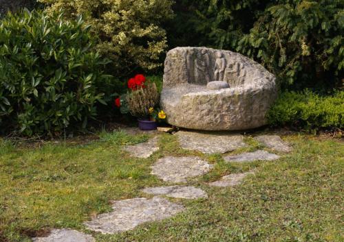 Jardin du Souvenir pour le cimetière d'Onnens