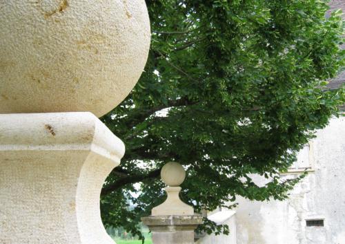 Restauration pilier d'entrée