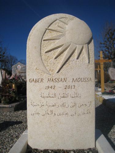 Monument en calcaire beige du Sinai