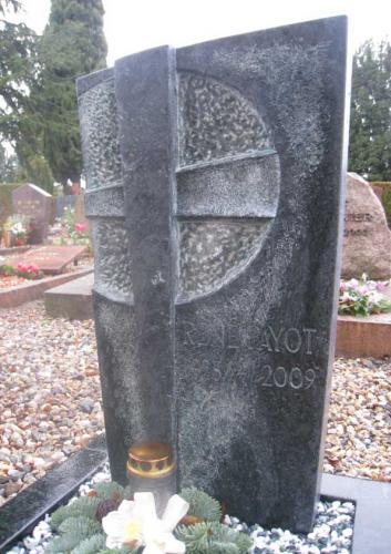 Monument cinéraire en Serpentine