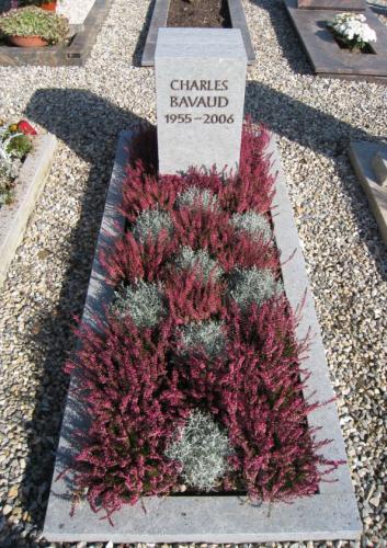 Monument en grès bleu d'Estavayer